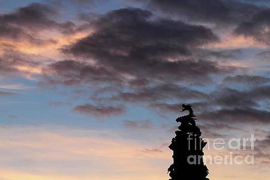 James Brunker - Welsh Dragon at Sunset 2