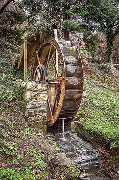 Welsh Waterwheel by Christine Smart