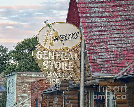 Welty's General Store SIgn by Catherine Sherman