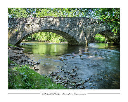 Welty's Mill Bridge by Andy Smetzer