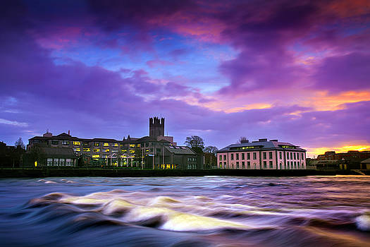 Dominick Moloney - Limerick Winter dawn in Limerick.