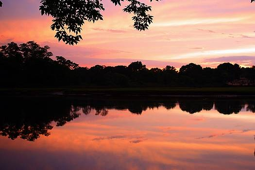We're Just Silhouettes Against the Sunset by Keli Gramse