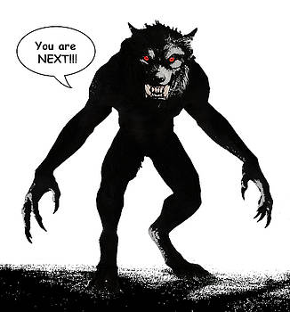 Werewolf Comic Illustration 1 by Solomon Barroa