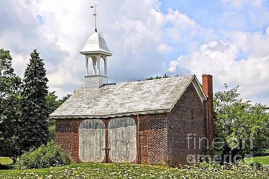 Werley's Corner Schoolhouse/Barn by DJ Florek
