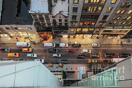 West 37th St New York by Thomas Marchessault