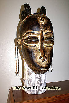 West African Mask by Everett Spruill