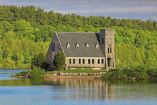West Boylston Old Stone Church by Juergen Roth