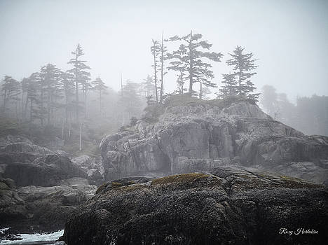 West Coast Landscape Ocean Fog III by Roxy Hurtubise