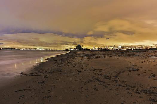 West coast Sunset  by Jimmy McDonald