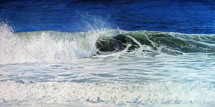 West coast surf by Glen Hacker