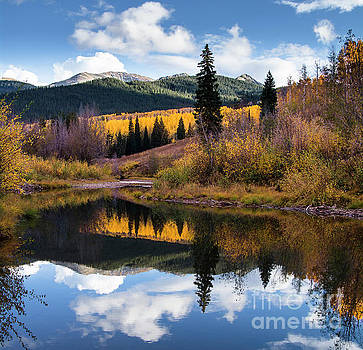 West Elk Range Reflection by The Forests Edge Photography - Diane Sandoval