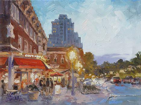 West End Evening - St.Louis by Irek Szelag