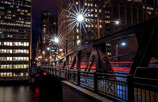 West Madison Bridge Chicago by Linda Unger