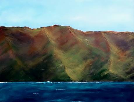 West Maui From the Water by Lisa Kaye
