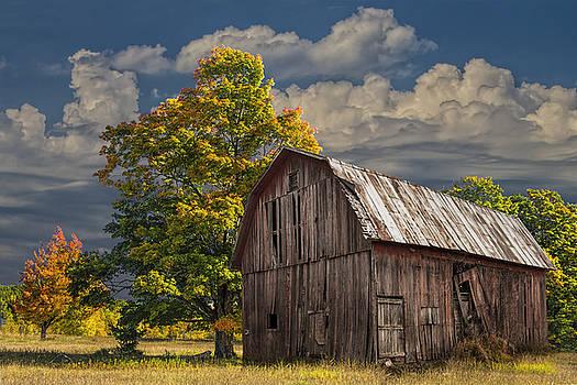 Randall Nyhof - West Michigan Barn in Autumn