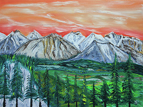 James Bryron Love - West of Banff