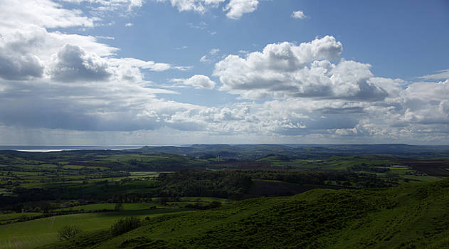 West of Eggardon Hill by Mike Finding