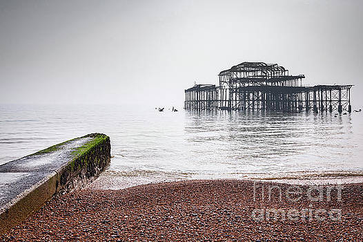 West Pier at Brighton 2 by Colin and Linda McKie