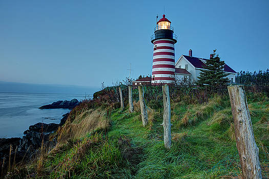 West Quoddy Head Light by Joe Paul
