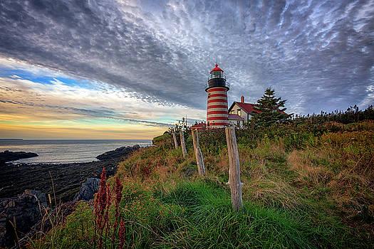 West Quoddy Head Light Station by Rick Berk