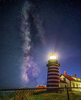 West Quoddy Head Lighthouse by Mark Papke