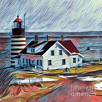 Art MacKay - West Quoddy Lighthouse