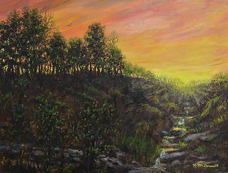 West Ridge Sundown by Kathleen McDermott
