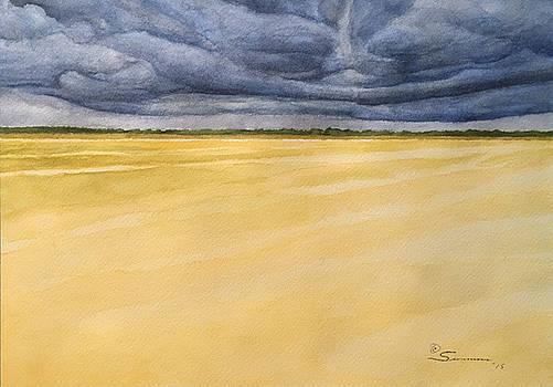 West Texas Wheat Field by C Wilton Simmons Jr