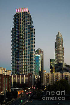 Bill Cobb - West Trade Street Downtown Charlotte North Carolina