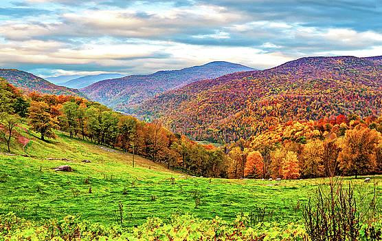 West Virginia High 3 - Paint by Steve Harrington