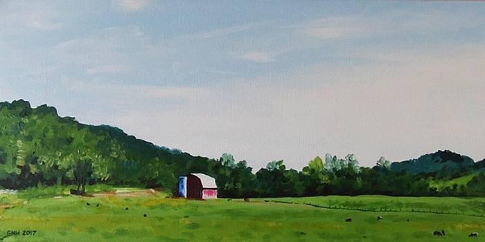 West Virginia Landscape by Glenn Harden