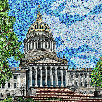 West Virginia State Capitol by Micah Mullen
