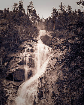 West Waterfall by ChrisAntoniniPhotography