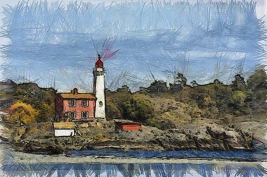 Westcoast Lighthouse by Chris Bird