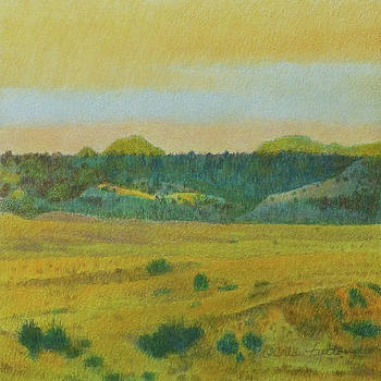 Western Edge Prairie Reverie by Cris Fulton