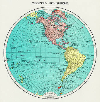 Western Hemisphere by Unknown