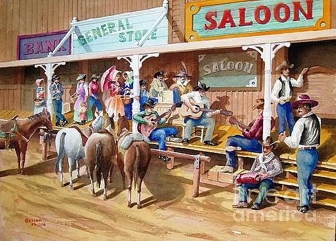 Western jam session by Charles Hetenyi