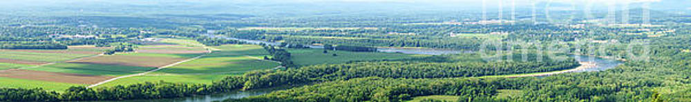 western Massachusetts panoramic by HD Connelly
