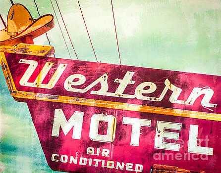 Sonja Quintero - Western Motel Old Sign