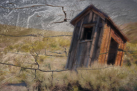 Western Outhouse by Ron Hoggard