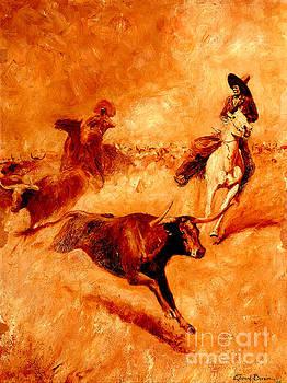 Peter Gumaer Ogden - Western Scene 1905