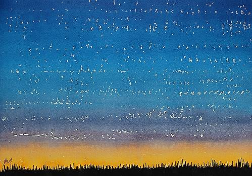 Western Stars original painting by Sol Luckman