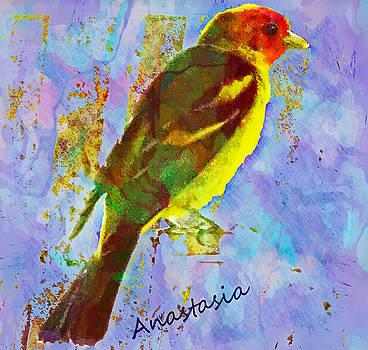 Western Tananger Mountain Birds by Anastasia Savage Ealy