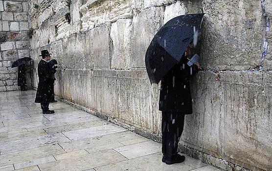 Western Wall Jerusalem 02 by Jason Moore