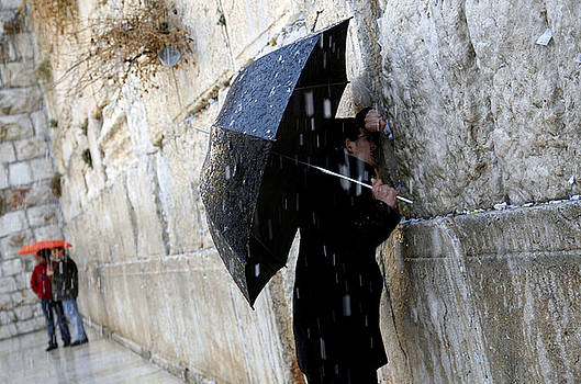 Western Wall Jerusalem 03 by Jason Moore