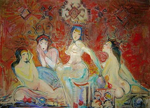 Oriental women by Art Hrasarkos