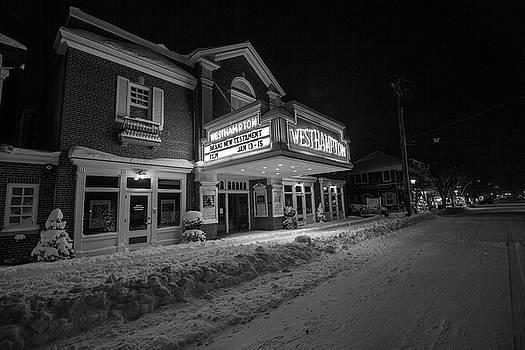 Westhampton Winter Night by Robert Seifert