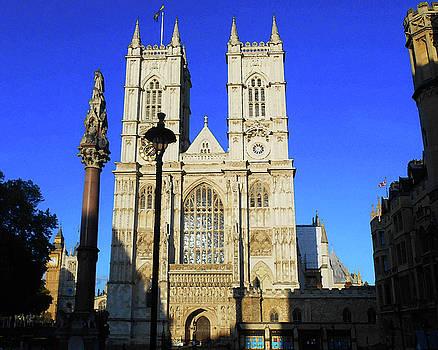 Westminster Abbey London England by Irina Sztukowski