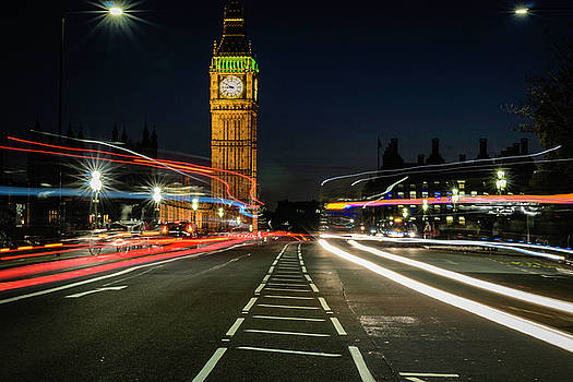 Westminster at Night by Brandilyn Carpenter