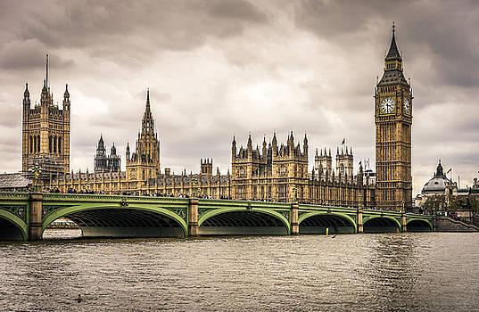 Westminster Bridge London by Nicky Jameson
